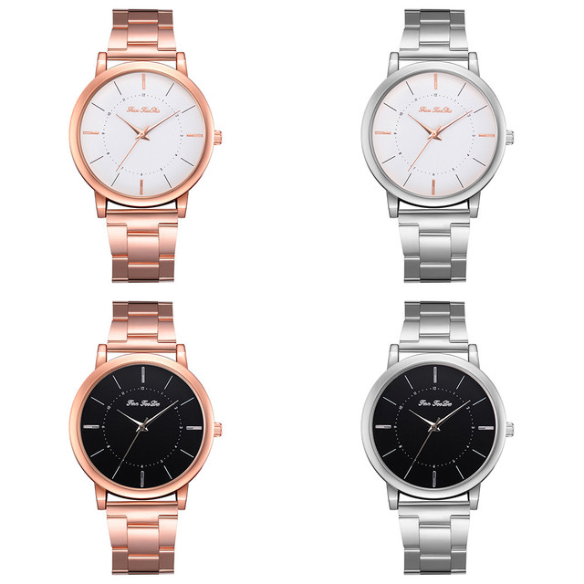 New Women  Luxury Ladies Watch Fashion Casual Lovers Girls Boys Ladies Metal Quartz  Watches Reloj Mujer Clock relogio feminino