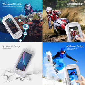 Image 5 - Cadiso 45m/147ft Waterproof Diving Housing Smartphone Dive Taking Underwater Cover Case for iPhone 11/X/8 Plus/8/7 Plus/7 iOS 13