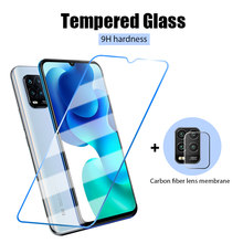 2IN1 Phone Front Glass for Xiaomi Mi 9 Pro 8 SE 5 6 Screen Protector Glass Camera Len Film on Xiaomi Mi Note 10 Lite 9T Mi9 Lite(China)