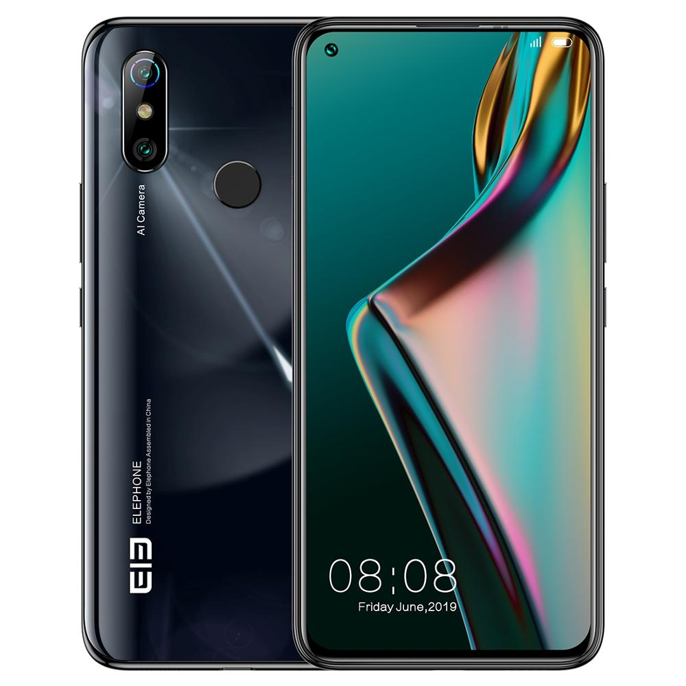 ElEPHONE U3H Android 10 Mobile Phone 6.53 Helio P70 Octa Core 6GB+128GB 24MP Selfie 48MP Camera 4G Smartphone 3500mAh NFC Cell