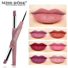 Miss Rose бренд Карандаш для губ матовый карандаш для губ 12 цветов водонепроницаемые увлажняющие губные помады длинная стойкая губная помада Llipliner макияж
