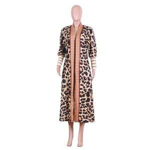Image 5 - אפריקה מעילים לנשים אפריקה בגדי גלימה חדשה של מעיל אפריקאי ריש Bazin לנשים סקסי קרדיגן גלימת של את אחד מעיל