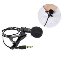 Mini 3.5mm Jack Microphone Lavalier Tie Clip Microphones Microfono Mic For Speaking Speech Lectures 28mm Long Cable