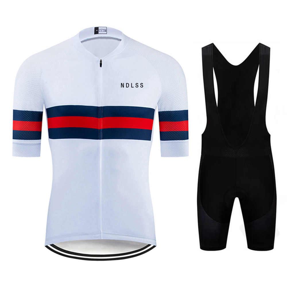 NDLSS männer Radfahren Jersey 2020 Pro Team Sommer Radfahren Kleidung Schnell Trocknend Set Racing Sport Mtb Fahrrad Trikots Fahrrad uniform