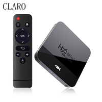 CLARO H96 MINI Android 9,0 TV BOX RK3228A 4k Smart TV BOX 2GB Ram 16GB Rom Duble wiFi Bluetooth Media Player Set-Top Box 2021