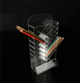 Acrylic Pens holders Rack Shelf for Gel Pen Eyebrow Pen Pencils Ball Piont Pens Marker Pens Drawing Pens Display