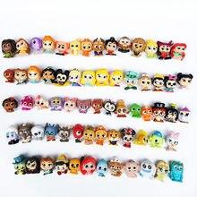 2-3cm mini anime dos desenhos animados figura de ação olhando vidro olhos doorables bonecas para cápsula brinquedo princesa boneca crianças presente natal brinquedos