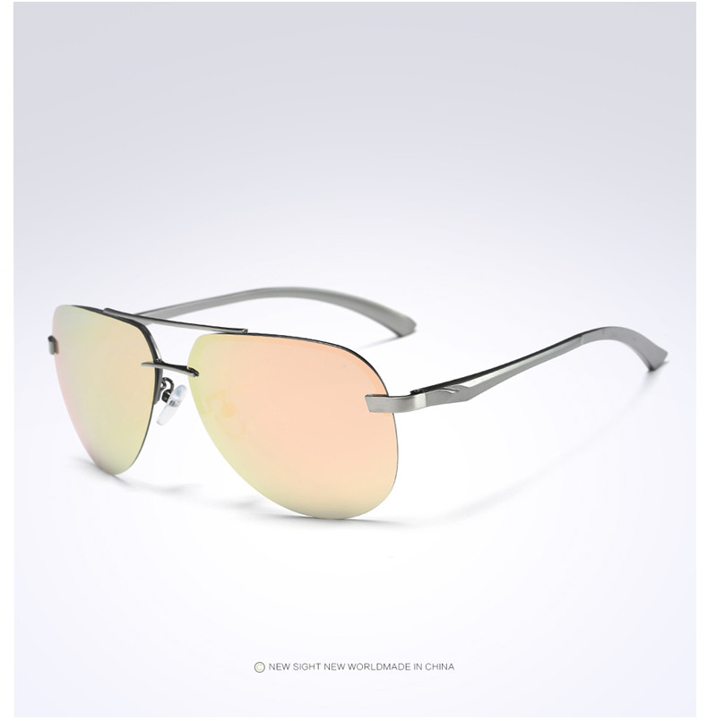 H7f6375c84c424d598ba3618af4dda2c4c - New Alloy Frame Classic Driver Men Sunglasses Polarized Coating Mirror Frame Eyewear aviation Sun Glasses For Women