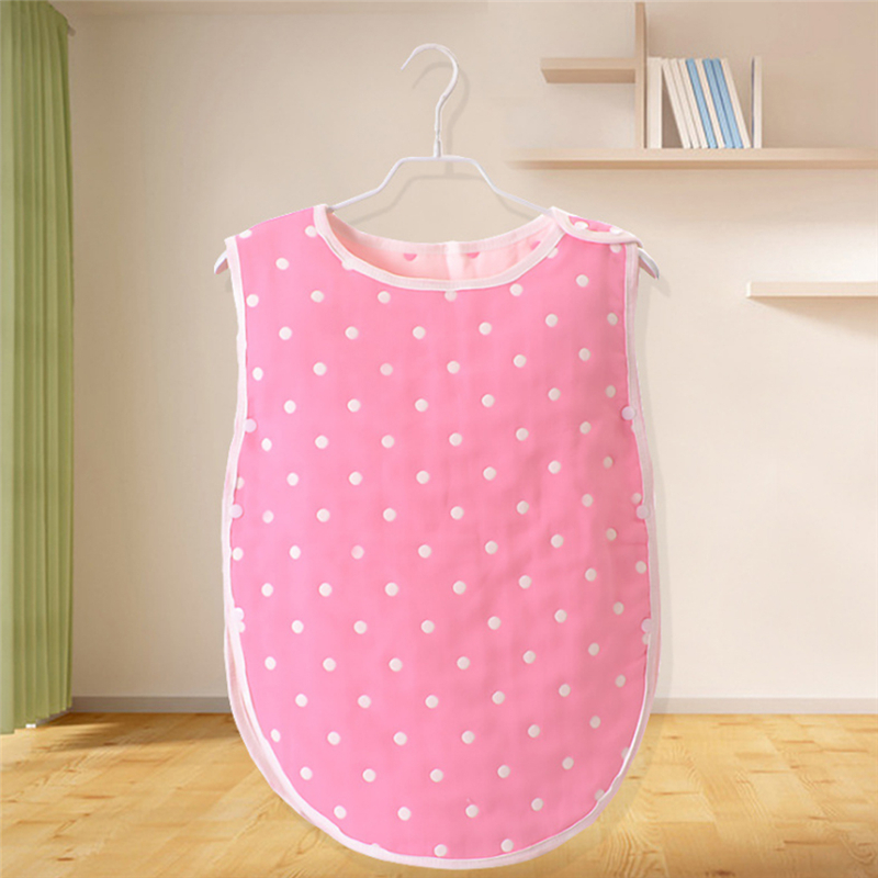 Cute Baby Sleeping Bag Muslin Cotton Sleep Sack Soft Sleeveless Vest Sleep Bag Anti Kick Quilt Saco Be Dormir Para Bebe Sacks