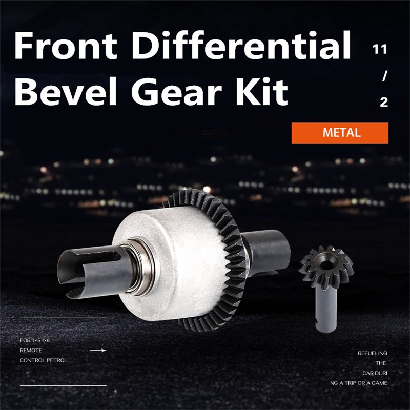 Front Differential Bevel Gear Kit for ROVAN LT Losi 5ive-T RC Car parts Vehicles & Remote Control Toys Accessories