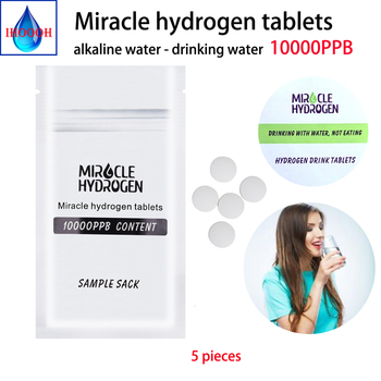 10000PPB Miracle Hydrogen Water Tablets alkaline H2 water improve immunity Trial Pack 5 pieces China Japan Cooperation Products beauty products china beauty products china peeling de diamante dermoabrasion white free shipping