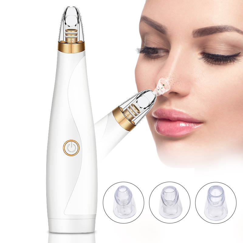 Blackhead Remover Face Deep Pore Cleaner Removal Vacuum Suction Facial SPA Diamond Beauty Care Tool Skin Care