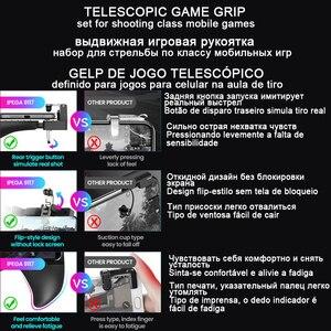 Image 5 - Gamepad Trigger Pubg Controller mobilny Joystick na telefon Android iPhone konsola do gier konsola do gier telefon komórkowy Joypad pabg Gaming