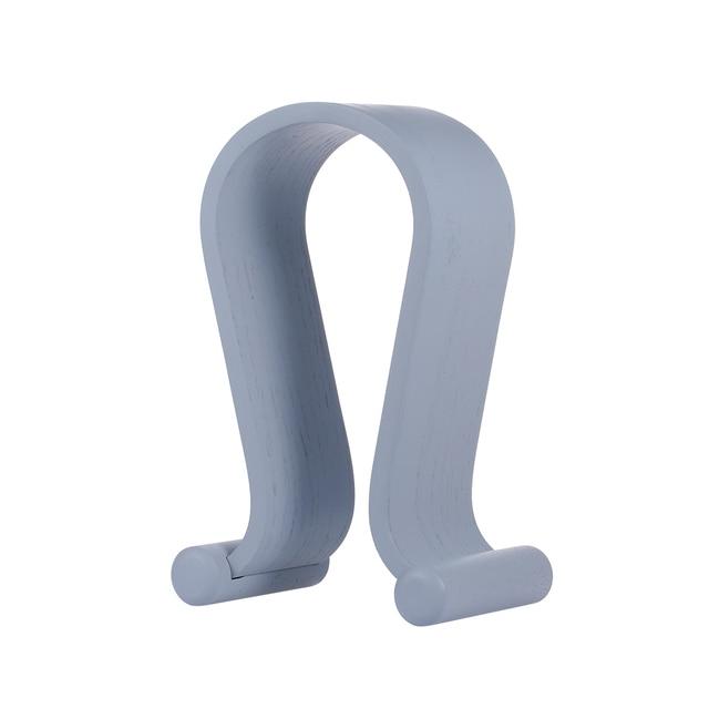 SAMDI Wooden Headphone Stand Gaming Headset Earphone Displaying Holder Hanger wooden stand holder