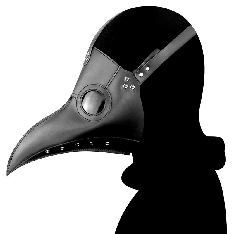Halloween Gothic Steampunk Crow Reaper Mask Plague Doctor Schnabel Clown Mask Bird Fancy Devil Anime Cosplay Party Scary Costume