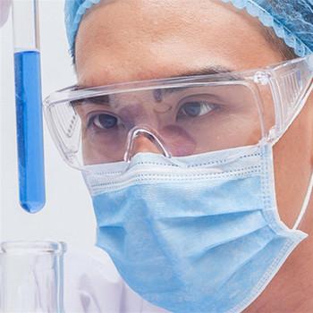Nowe okulary ochronne okulary ochronne Unisex okulary odporne na uderzenia okulary przeciwmgielne odporność na zarysowania okulary zabezpieczające przed promieniami uv tanie i dobre opinie Goggles Polistyrenu Octan Clear Anti-Fog