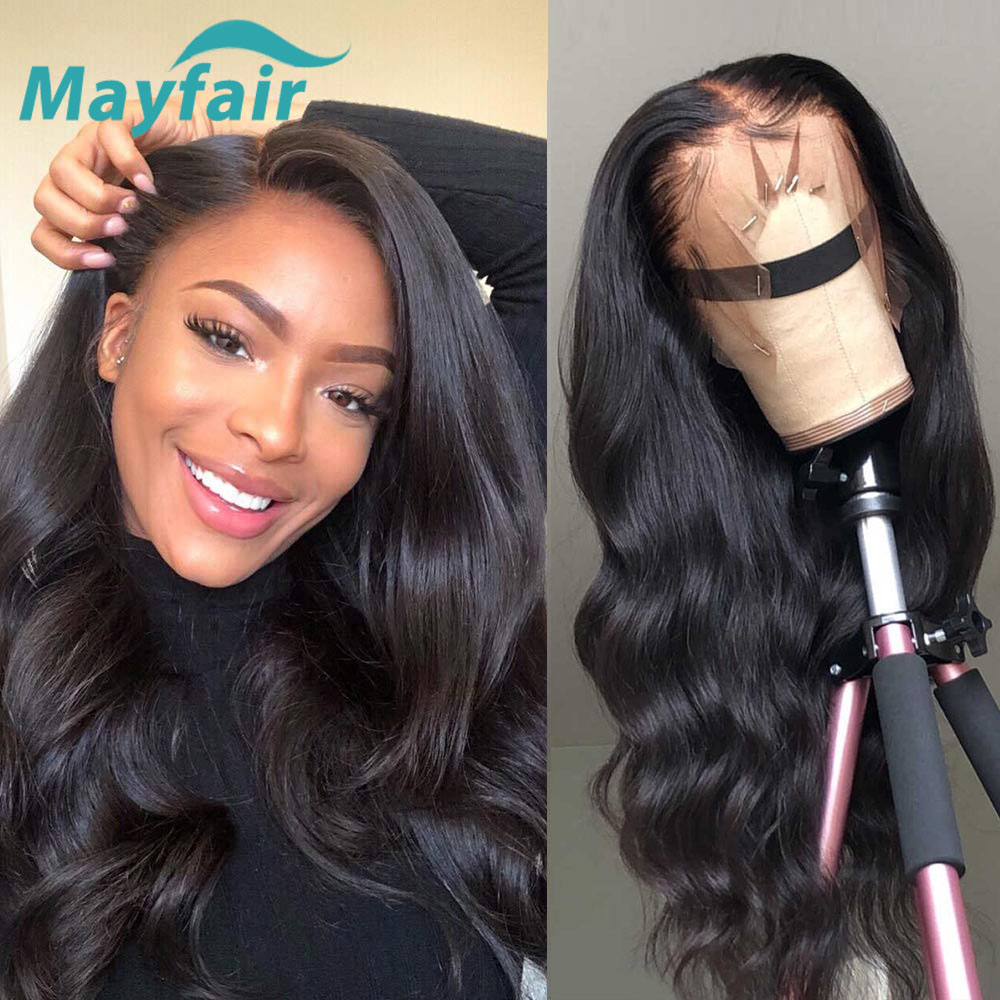 Mayfair Body Wave Lace Front Human Hair Wigs 13x6x1 Hd Transparent Lace Frontal Wig With Baby Hair Non Remy Brazilian Hair Super Sale 87c74 Cicig