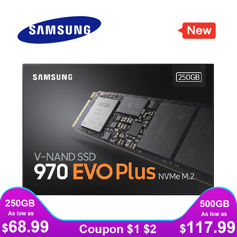 SAMSUNG Solid-State-Drive Pcie Hard-Disk TLC Internal 250GB Evo-Plus M.2 1tb M2 2280