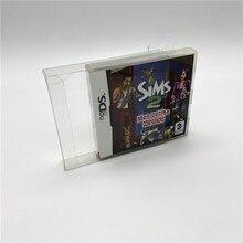 Boîte de Collection boîte daffichage boîte de protection boîte de rangement convient aux jeux NDS européens Nintendo jeux double écran