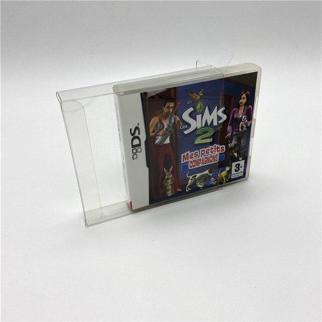 กล่องกล่องป้องกันกล่องเหมาะสำหรับยุโรปเกม NDS Nintendo แบบ Dual หน้าจอเกม