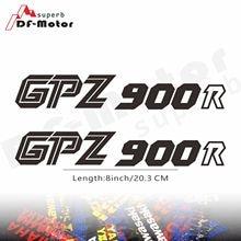 8Inch Reflective Sticker Decal Motorcycle Car Sticker Wheels Fairing Helmet Sticker Decal For Kawasaki GPZ900R GPZ 900 R
