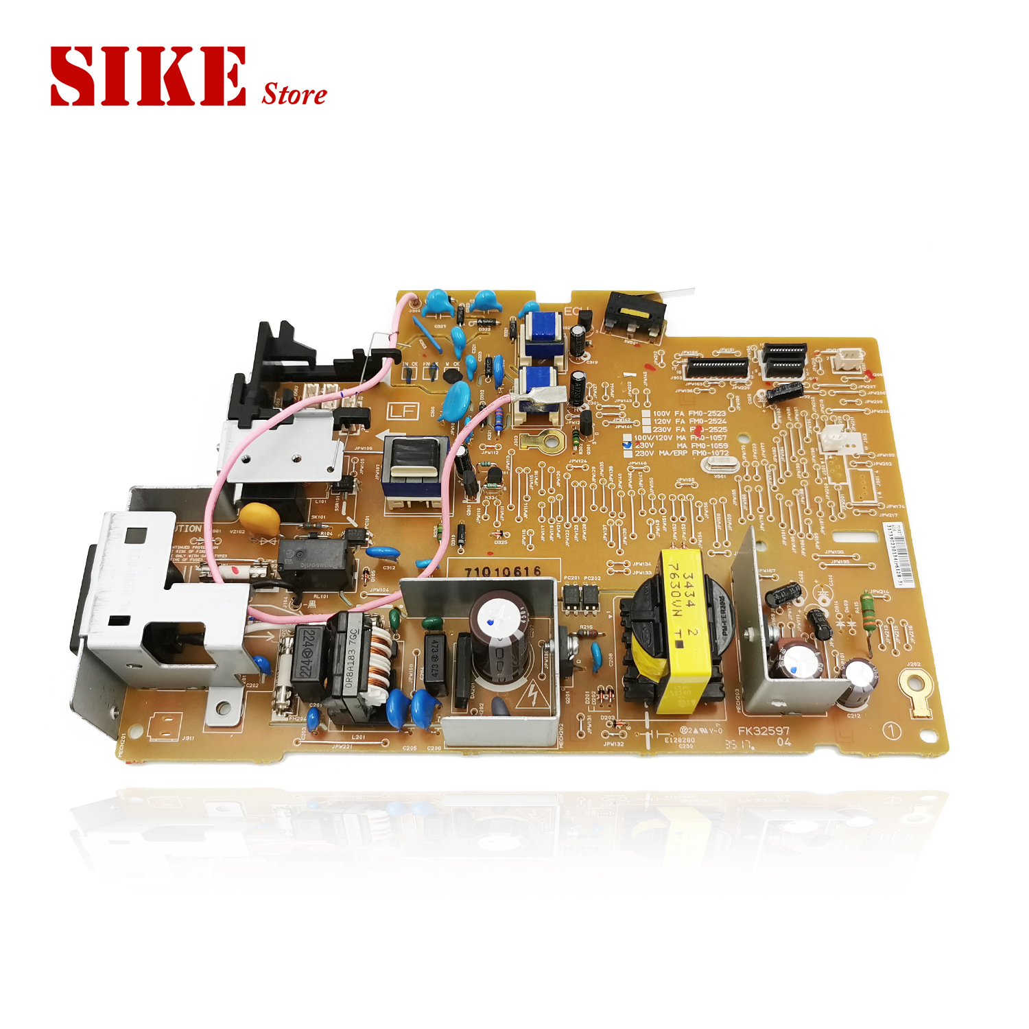 LaserJet Engine Control Power Board For Canon MF3010 MF 3010 FM0-1059 FM0-1057 Voltage Power Supply Board image