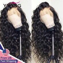Perruque Lace Closure Wig Remy malaisienne – YYong, cheveux naturels, 13x4, 30 pouces, Loose Deep, naissance des cheveux naturelle