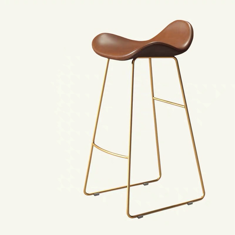 Nordic Bar Chair Household Modern Simple Bar Chair Front Chair Leisure Milk Tea Shop Cafe Stand