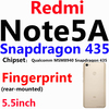 Note5A Snapdagon435