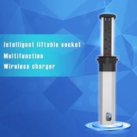 Wireless USB charging socket leakage protection take off and landing hidden in the kitchen plug the power desktop line