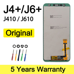 Original Lcd For Samsung J4+ J6+ Display J410 J610 J415Fn Wholesale Display For Samsung J4 Plus Lcd Screen J4 core Assembly
