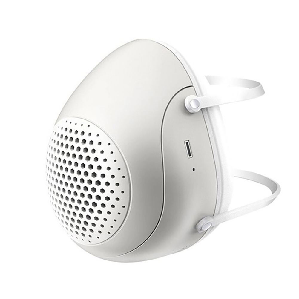 PM2.5 Dust Mask Smart Electric Fan Mask Breathable Mask Anti Smog Dustproof Outdoor Mask With 4 Filters