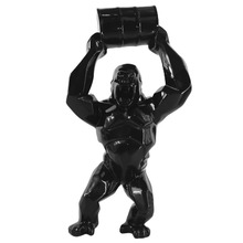 Toy-Box Gorilla Resin Statue Animal King-Kong Bust-Figure Collectible-Model Simulation
