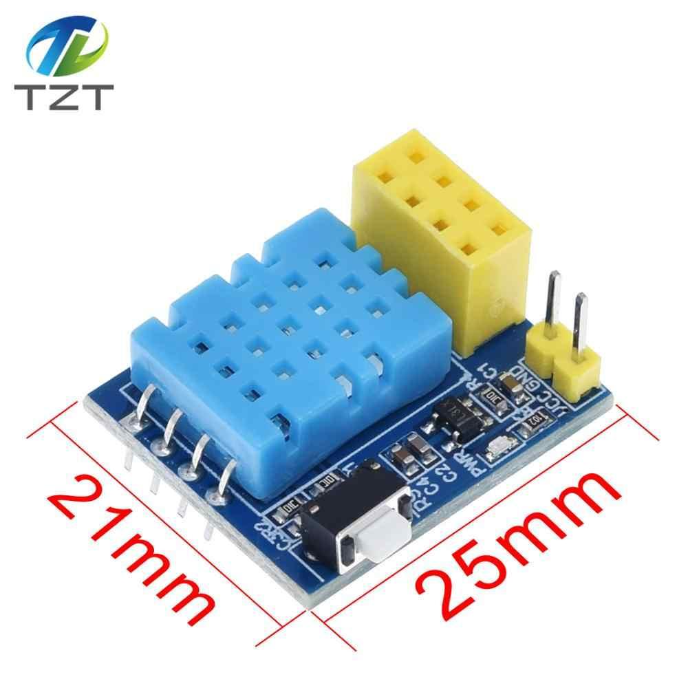 ESP8266 ESP-01 ESP-01S 5V moduł przekaźnika WiFi/WS2812 kontroler LED RGB/DHT11/DS18B20 czujnik temperatury i wilgotności dla arduino