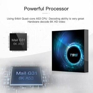 Image 3 - Allwinner h616 6k 30hz smart tv caixa android 10.0 10 9 Mali G31 mp2 4gb 32gb 64gb quad core media player conjunto caixa superior
