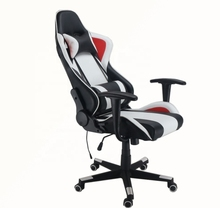Wholesale PU Leather Swivel Computer Adjustable Height Gaming Office Chair With Bluetooth Speaker