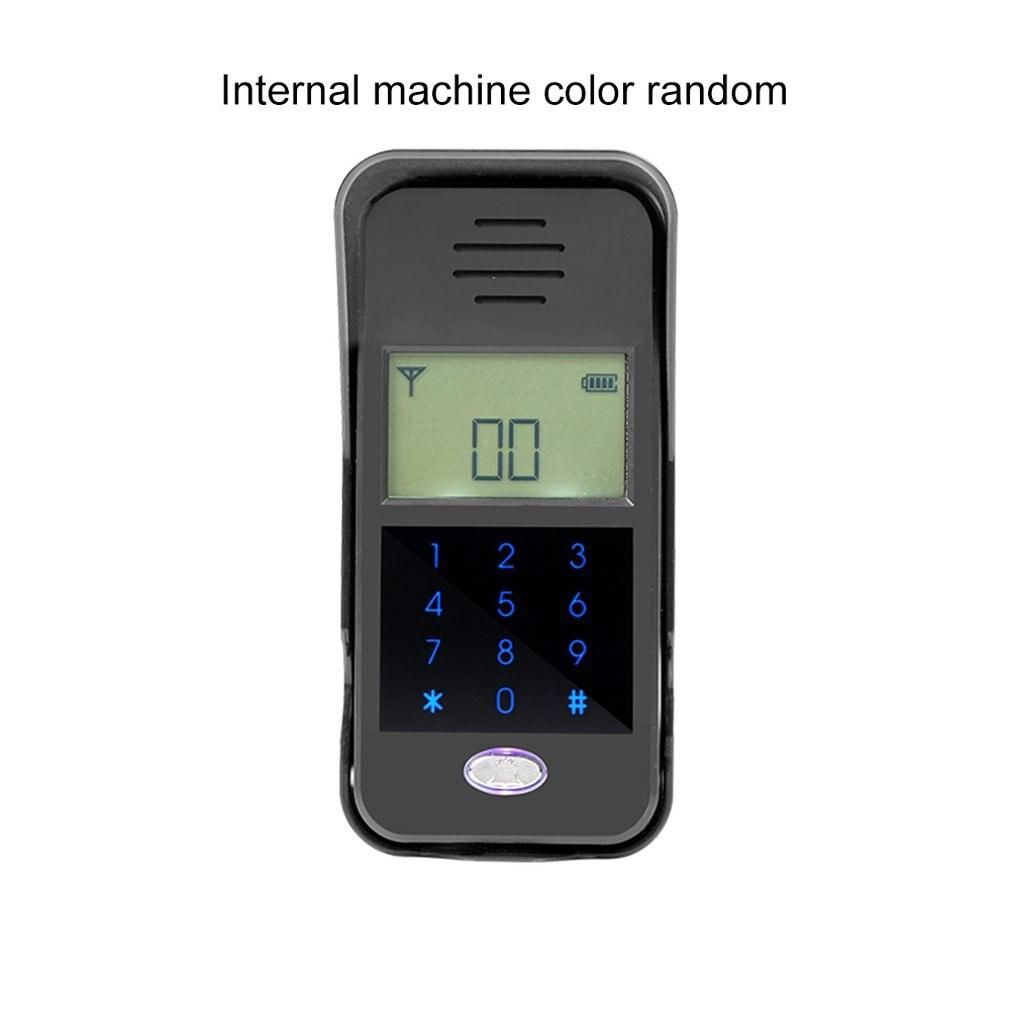 2.4GHz Wireless Audio Doorbell Intercom System Non visual Digital Waterproof IP55 Home Safe Security Monitor for Building Doorbell     - title=