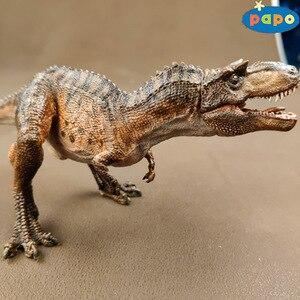 Image 3 - פאפו סימולציה דינוזאור בעלי החיים דגם Gorgosaurus ילדי צעצועים