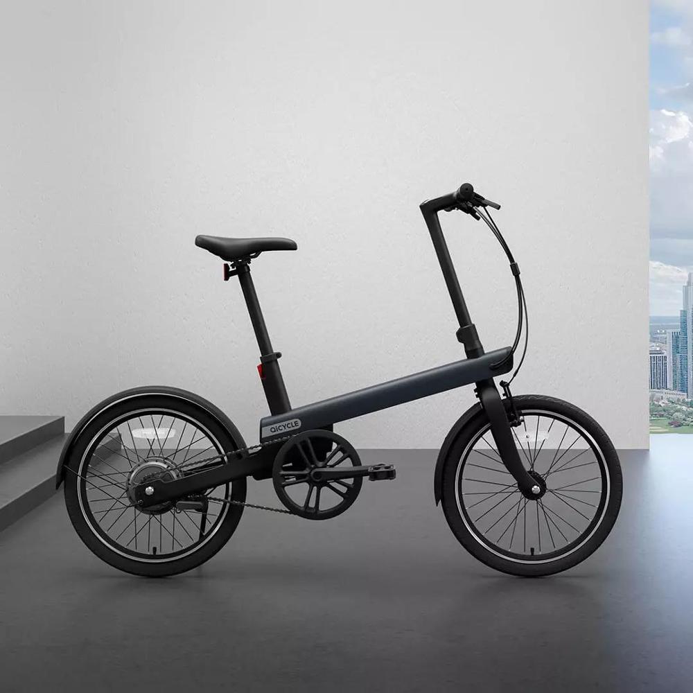 20 zoll QICYCLE elektrische ebike 36V lithium-batterie versteckte rahmen Maximale reichweite 40km 25 km/h Mobilität Elektrische Fahrrad
