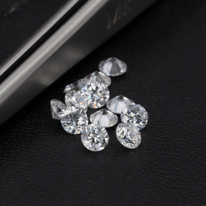 Starsgem bijou de haute qualité 20 pièces 2.5mm test positove VVS en vrac HTHP laboratoire cultivé diamant meilleur prix pour la mise en bijoux