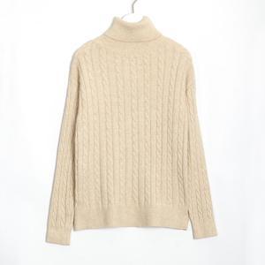 Image 5 - WIXRA swetry damskie 2018 jesień zima kobiet z golfem na co dzień luźne damskie swetry z dzianiny swetry odzież damska