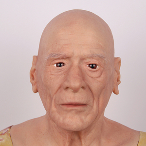 Image 4 - Halloween Old Man Mask Realistic Silicone Masquerade Full Head Tricky Props Drag Queen
