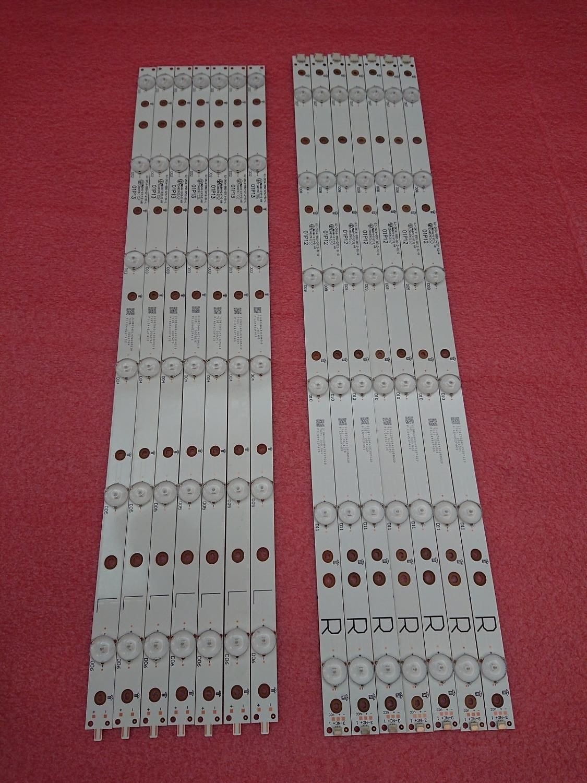 Новинка, 5 комплектов = 70 светодиодный т. светодиодных лент для подсветки головного света, TPT550F2 FHBN20.K 01P13 01P12 01N30 01N29