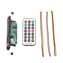 Wireless MP3 WMA Decoder Board Remote Control Player 12V Bluetooth 5.0 USB FM AUX TF SD Card Module Car Radio MP3 Speaker(China)