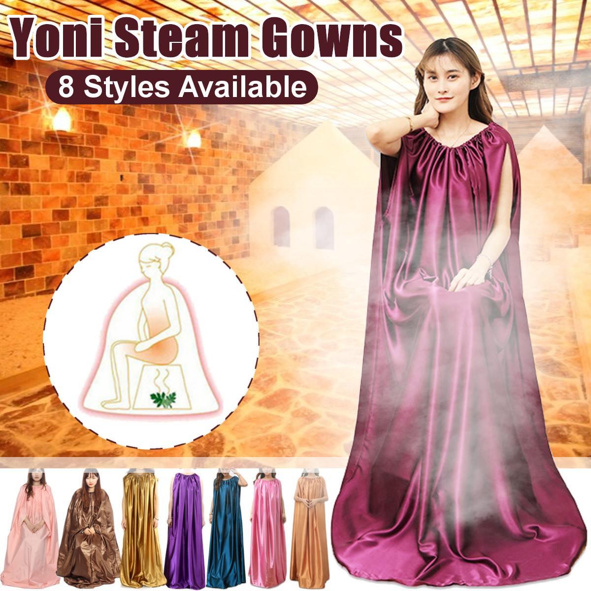 Yoni Steam Gowns Vaginal Detox Yoni Steam Herbs Dress V Steam Vaginal Steaming Hip Bath Rope Detox Steam Gowns Functional Steam