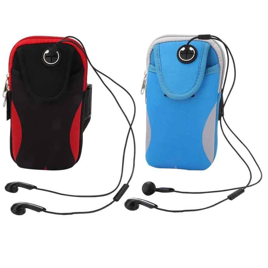 Sac pour téléphone à la main Sport en cours d'exécution brassard sac housse brassards universel téléphone portable sacs support Sport de plein air bras pochette