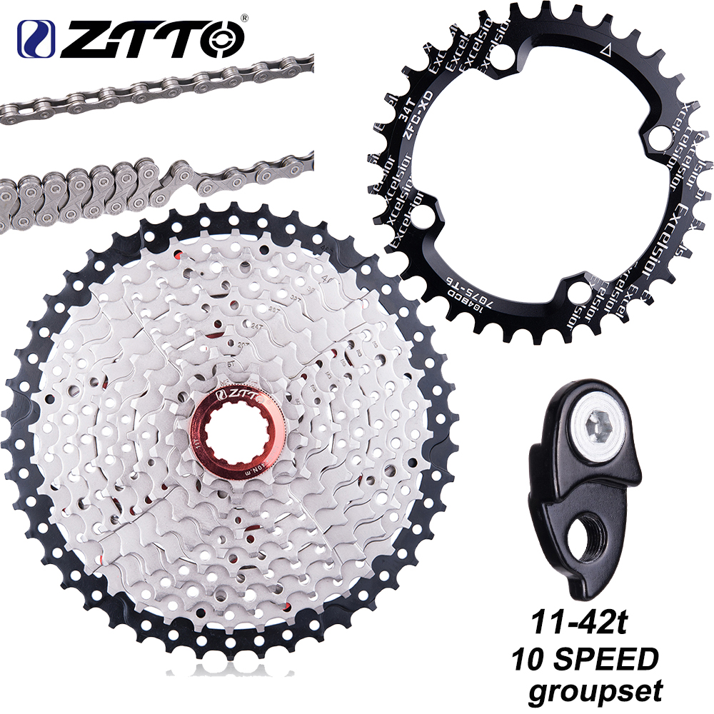 ZTTO 10 Speed 11-46T SLR 2 Bicycle Cassette For MTB XX X0 X9 X7 M610 M781 M786