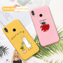 Phone Case For Huawei Honor 9X Pro 9 Lite 20 Pro 8X 20i 10i 9i Couple Pattern Soft TPU Cover Case For Huawei Honor 10Lite 20 Pro(China)