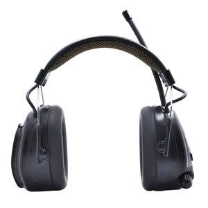 Image 3 - Lithium batterie Bluetooth Elektronische Schießen gehörschutz Gehörschutz FM/AM Radio Ohr Verteidiger Taktische Schutz