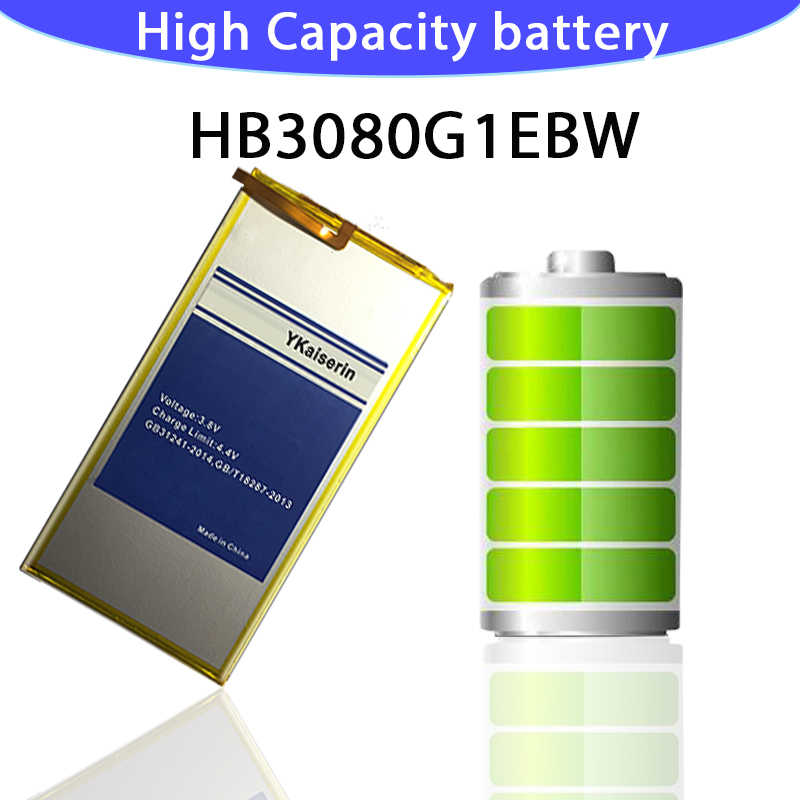 6000mAh HB3080G1EBW S8 قابلة للشحن ليثيوم أيون بطارية الجهاز اللوحي لهواوي الشرف S8-701u الشرف S8-701W Mediapad M1 8.0 Batterij